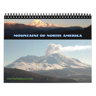Montañas de Norteamérica 2012 Calendarios