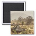Montañas de Nuba, pueblo de Nugera Iman
