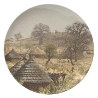 Montañas de Nuba, pueblo de Nugera Platos