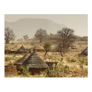 Montañas de Nuba, pueblo de Nugera Tarjetas Postales