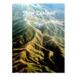Montañas de Nueva Zelanda Postal