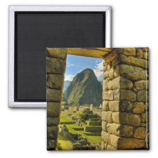 Montañas de Perú, los Andes, los Andes, Machu Picc Imán De Frigorifico