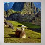Montañas de Perú, los Andes, los Andes, Machu Picc Poster