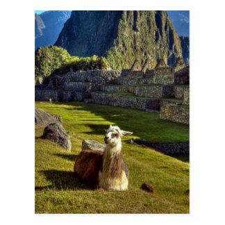 Montañas de Perú, los Andes, los Andes, Machu Postal