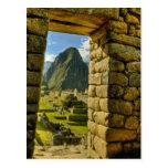 Montañas de Perú, los Andes, los Andes, Machu Tarjetas Postales