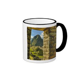 Montañas de Perú, los Andes, los Andes, Machu Taza A Dos Colores