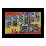 Montañas de Pocono - escenas grandes de la letra Tarjetón