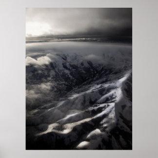 Montañas de Salt Lake City Poster