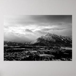Montañas de Salzburg Impresiones