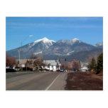 Montañas de San Fransisco que miran a través de as Postales
