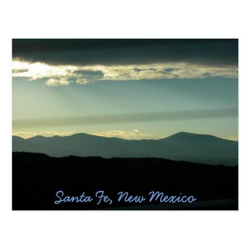 Montañas de Santa Fe Tarjetas Postales