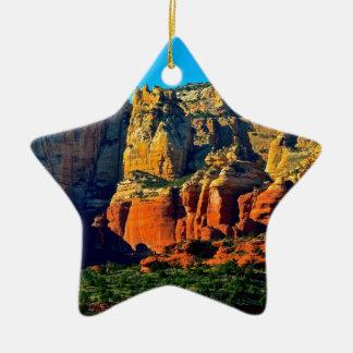 Montañas de Sedona Ornamento De Navidad