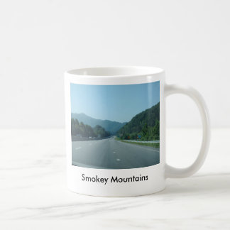 Montañas de Smokey Tazas De Café