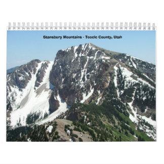 Montañas de Stansbury Calendario