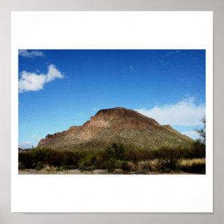 Montañas de Tucson Arizona Posters