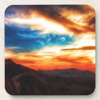 Montañas de Utah Posavasos