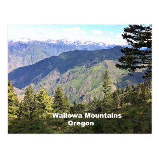 Montañas de Wallowa, Oregon Postales