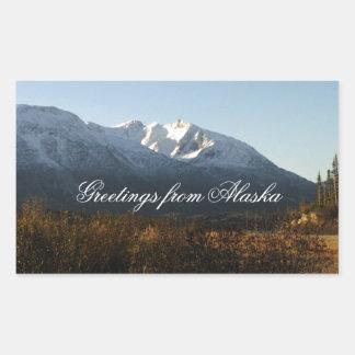 Montañas del Alaskan de la Rectangular Altavoz
