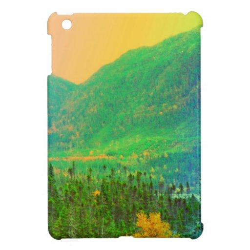 Montañas del arco iris y caso del iPad de Canadá d