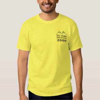 Montañas del Big Horn 1 camiseta Playera