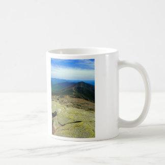 Montañas del blanco de Franconia Ridge Taza Clásica