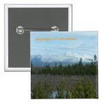 Montañas del botón de Yellowstone Pins