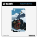 montañas del chaval del yule iPod touch 4G skins