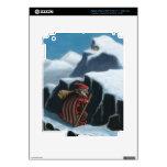 montañas del chaval del yule iPad 3 pegatinas skins