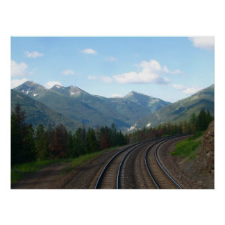 Montañas del glaciar de Montana 2,2011 Posters