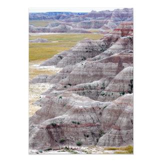 Montañas del parque nacional de los Badlands de Anuncios Personalizados