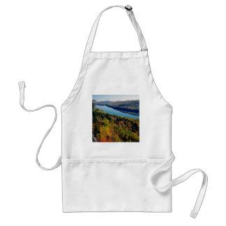 Montañas del puerco espín del lago delantal