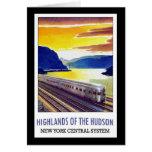 Montañas del sistema central del Hudson Nueva York Tarjeton