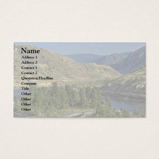 Montañas desnudas tarjetas de visita