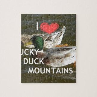 Montañas Ducky del pato Puzzles Con Fotos