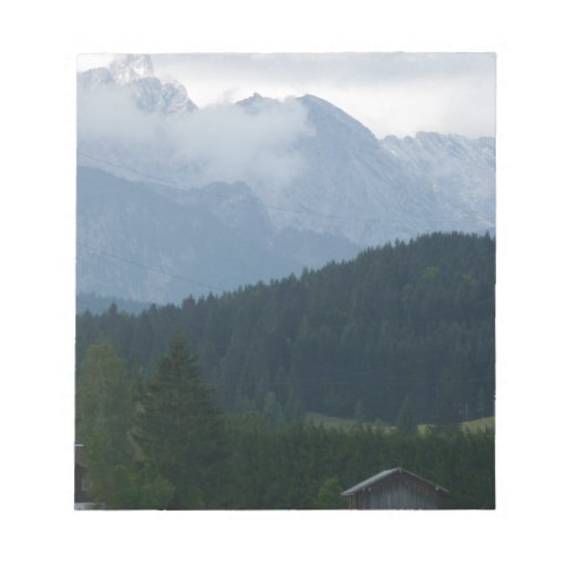 Montañas en Alemania Libreta Para Notas