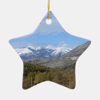 Montañas en Calabria Ornaments Para Arbol De Navidad