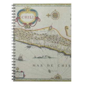Montañas en Chile Cuaderno