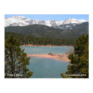 Montañas en Colorado Tarjetas Postales