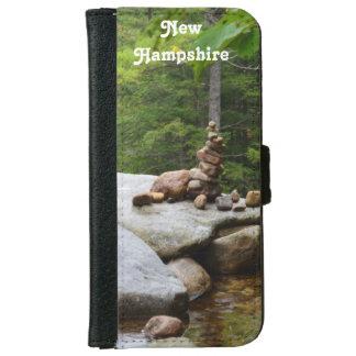 Montañas en Conway del norte Funda Cartera Para iPhone 6