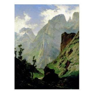 Montañas en Europa 1876 Tarjetas Postales