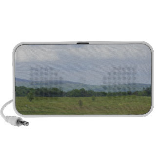 Montañas en la distancia iPod altavoz