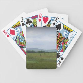 Montañas en la distancia baraja de cartas