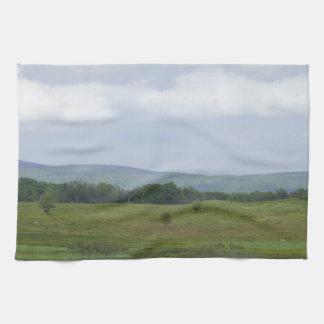 Montañas en la distancia toalla