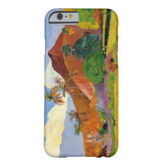 """Montañas en Tahití"" - Paul Gauguin Funda Barely There iPhone 6"