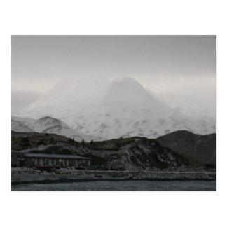 Montañas fantasmales, isla de Unalaska Tarjeta Postal