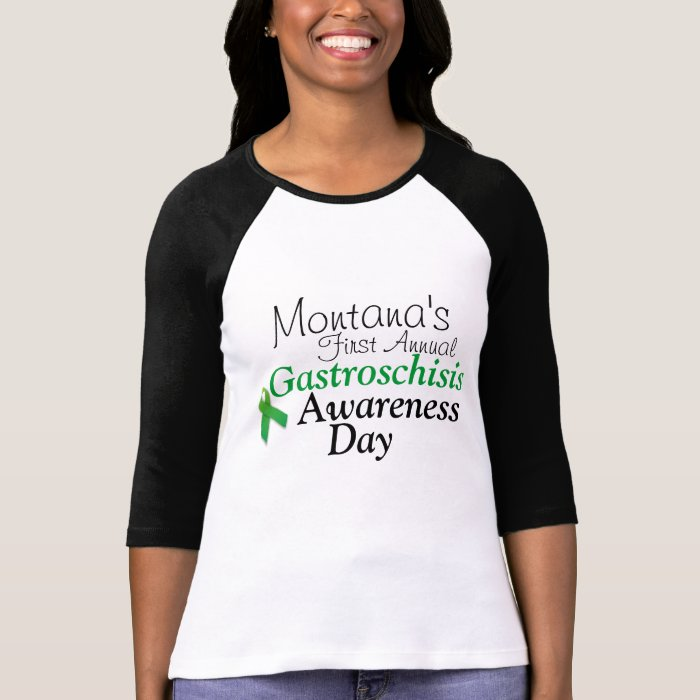Montana's First Annual Gastroschisis Awareness Day Tee Shirts