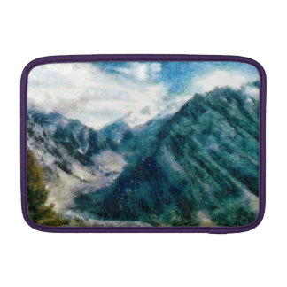 Montañas Himalayan elevadas Funda Macbook Air