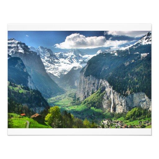Montañas impresionantes de Suiza Anuncios