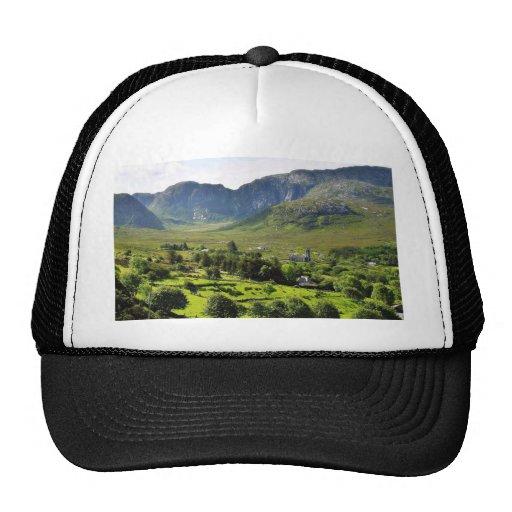 Montañas Irlanda de Dunlewy Gorros Bordados