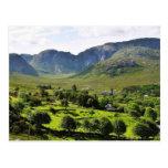 Montañas Irlanda de Dunlewy Tarjetas Postales